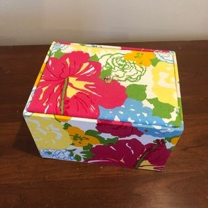 Lilly Pulitzer Jewelry Box Floral Print